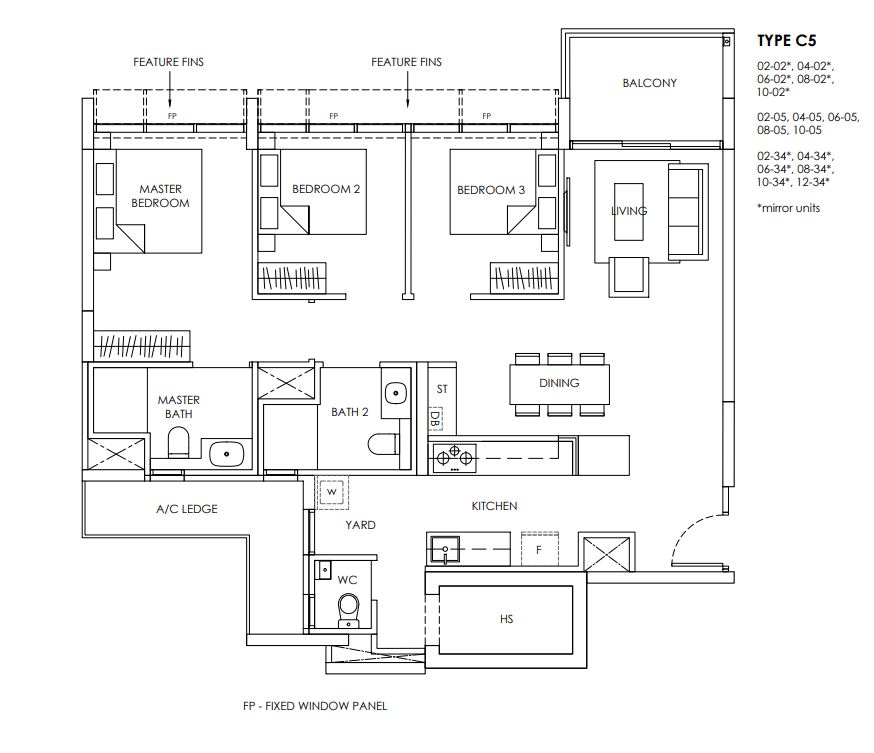 Provence Residence Floor Plan C5