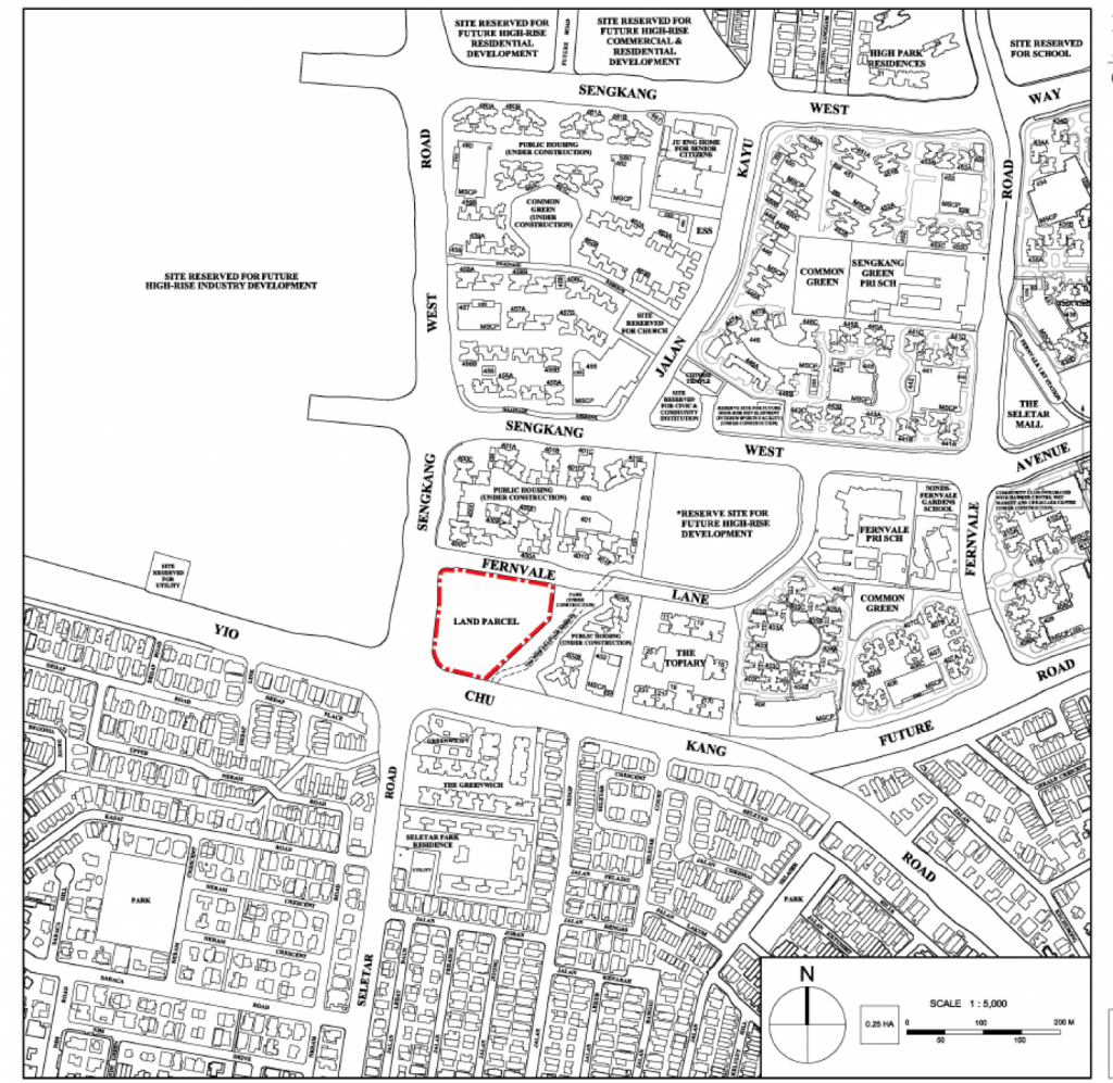 Fernvale EC location