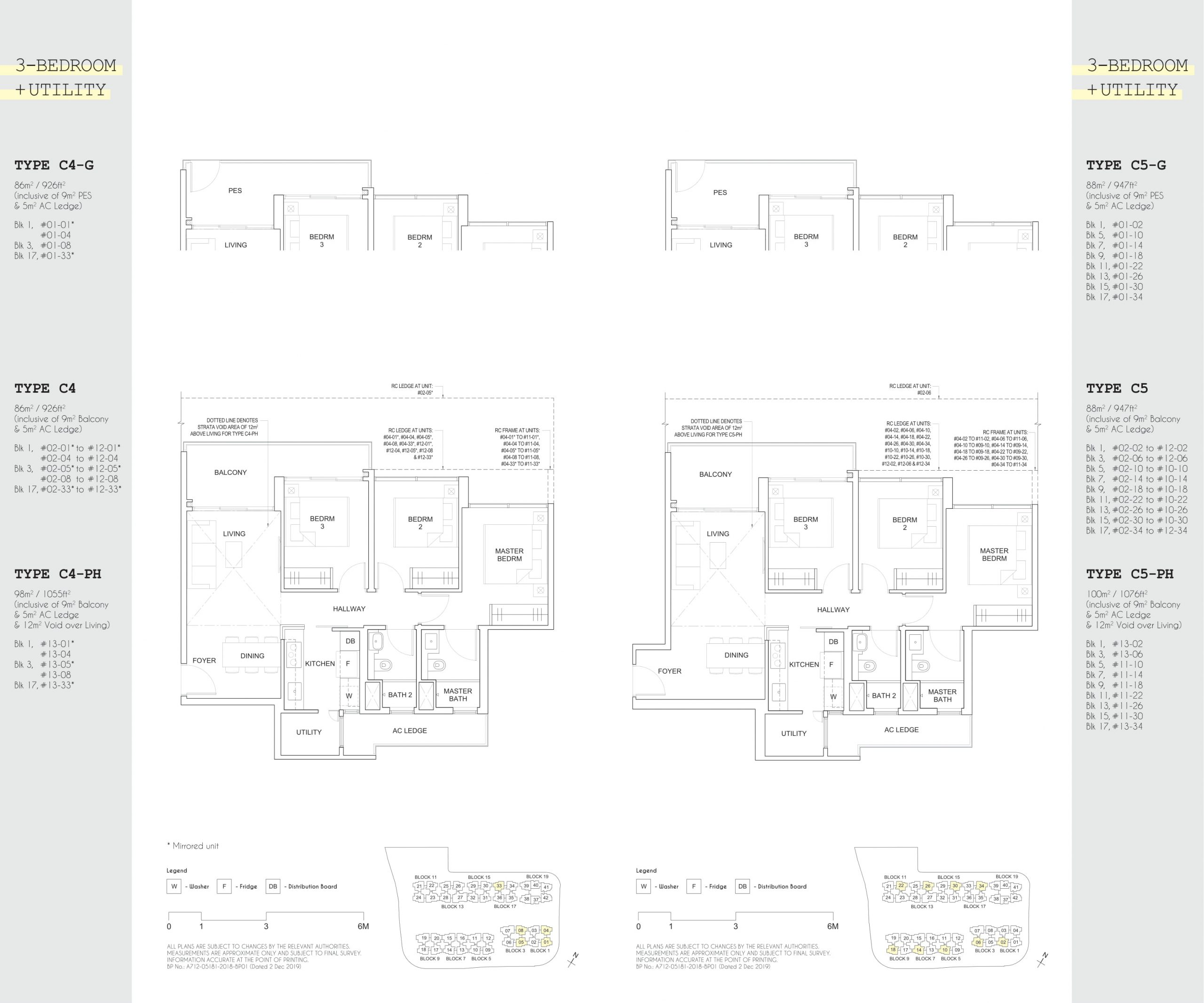 Parc Canberra EC's three-bedroom + utility / + yard types