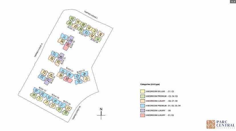 Site Plan color
