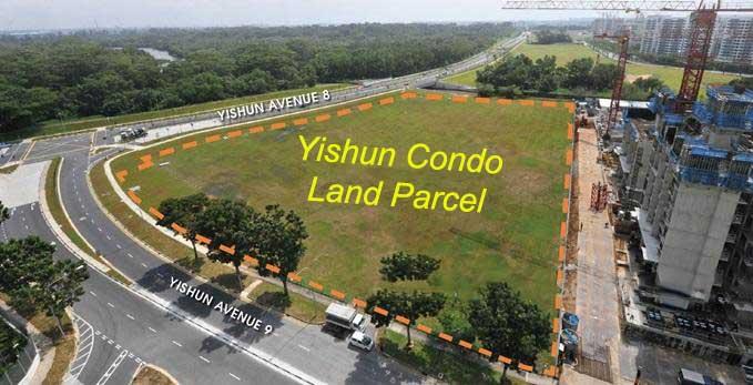 Yishun Ave 9 EC location